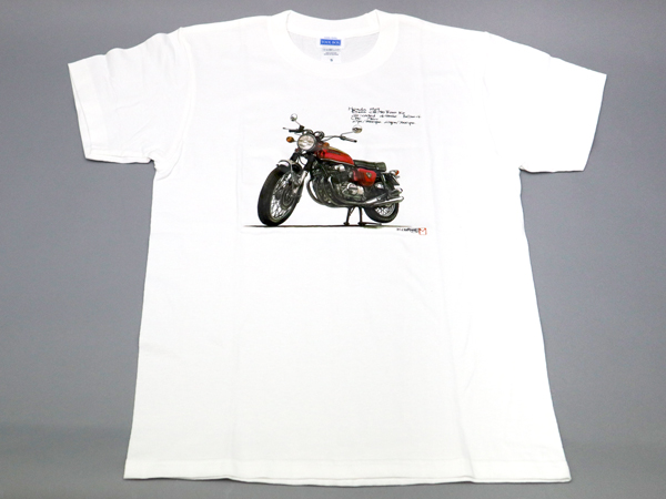 CB750K T-SHIRT (CANDY RUBY RED)