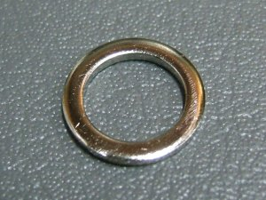 CB750K CB400F CB350F WASHER, OIL BOLT