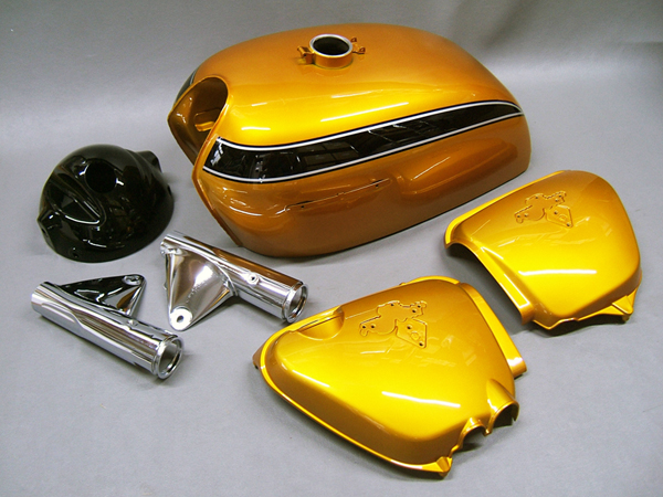Honda Candy Gold Spray Paint