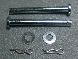 CB750K BAR SET, SEAT HINGE