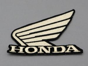 HONDA WING EMBROIDERED PATCH