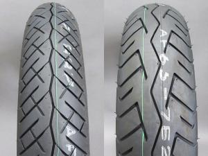 CB750K TIRE SET BATTLAX BT-45V FRONT & REAR