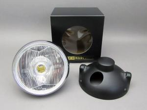 CB400F MARCHAL LIGHT ASSY, DRIVING LAMP (CLEAR/BLACK CASE) FULL KIT