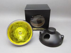 CB400F MARCHAL LIGHT ASSY, DRIVING LAMP (YELLOW/BLACK CASE) FULL KIT