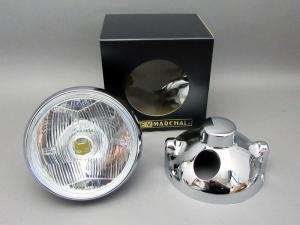 CB400F MARCHAL LIGHT ASSY, DRIVING LAMP (CLEAR/CHROME CASE) FULL KIT