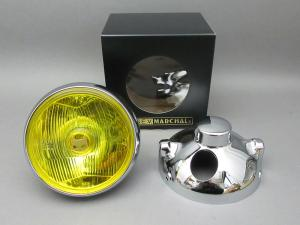 CB400F MARCHAL LIGHT ASSY, DRIVING LAMP (YELLOW/CHROME CASE) FULL KIT