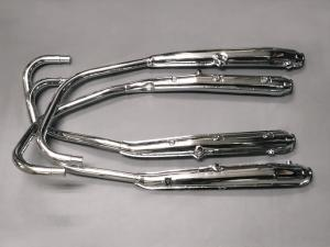 CB400F MUFFLER SET, NO NUMBER EXHAUST FOUR SEPARATE PIPES VERSION (A type / B type)