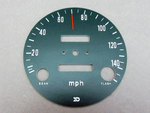 CB750 K1 FACE DIAL SPEEDOMETER (mph)