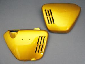 CB750 K0 COVER SET, SIDE (CANDY GOLD)
